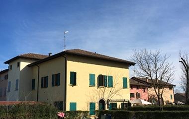 Corte le Vigne in Via San Biagio a Correggio (RE)